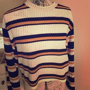 Topshop long sleeve shirt sweater